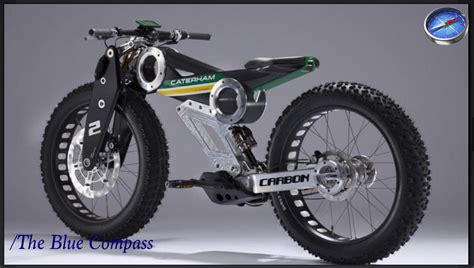 caterham carbon  bike   mighty electric bike
