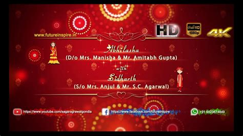 Wedding Invitation Card For Whatsapp by Wedding Invitation Card On Whatsapp Gallery Invitation