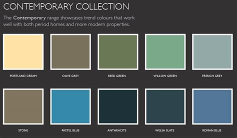 contemporary colors color palette contemporary lentine marine 4542