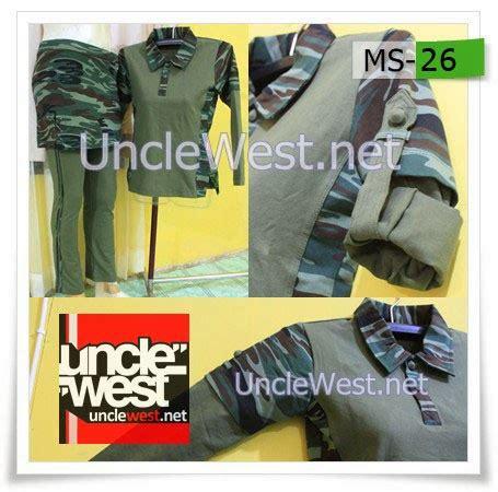 Baju Baju Olah Raga Baju Senam Kode Za 44 setelan loreng untuk olahraga unclewest sports and