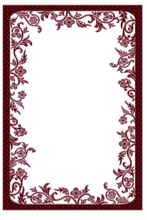 frame pattern images large red transparent frame frames pinterest stencil