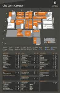 city west cus map cus facilities of