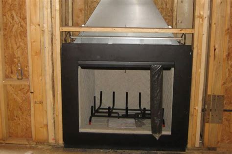 Prefab Wood Fireplace by Chimney Installations Atlanta Chimney Services
