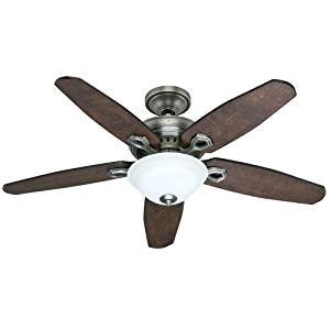 amazon prime ceiling fans 22549 fairhaven 52 in indoor antique pewter