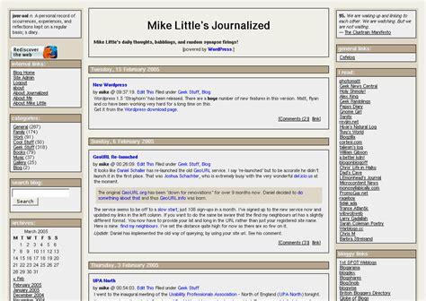 themes wordpress one column another 3 column wordpress theme mike little s