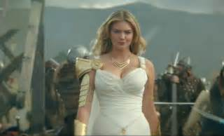 Kate upon looks sexy as hell in this new game of war commercial