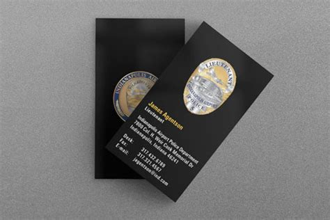 Nypd Business Card Template by Nypd Business Cards Gallery Card Design And Card