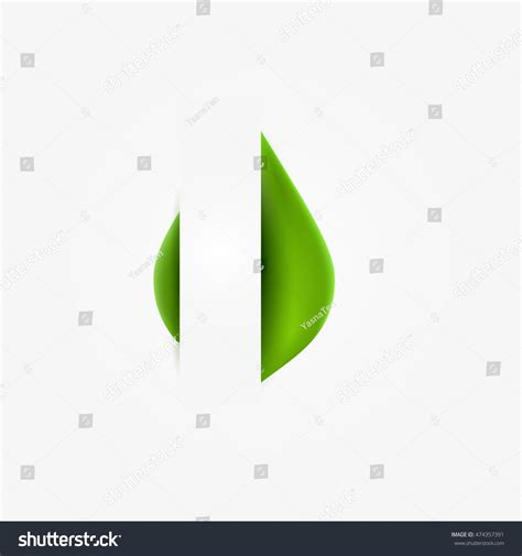 thesis abstract on sustainable architecture green realistic leaf paper banner abstract stock
