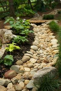 Drainage Ideas For Backyard 1000 Images About Creek Bed On