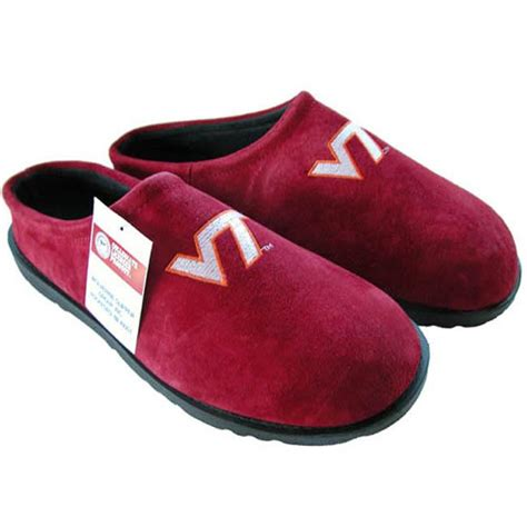 virginia tech slippers hush puppies s ncaa virginia tech slippers overstock