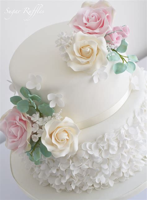 Fiori Chocolate Sugar Box wedding cakes