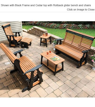 outdoor poly furniture poly concepts furniture