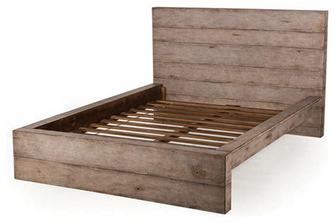 platform beds king size frame clinton reclaimed wood king size platform bed frame