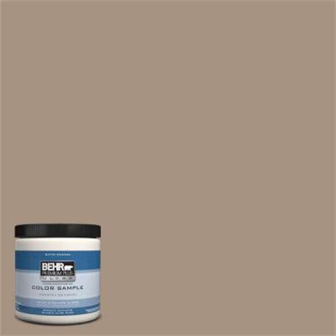 behr premium plus ultra 8 oz ppu7 5 earth interior exterior satin enamel paint sle