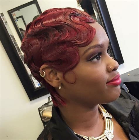 Finger Wave Hairstyles For Black by Finger Waves Hairstyles For Black Hair Hairstyles