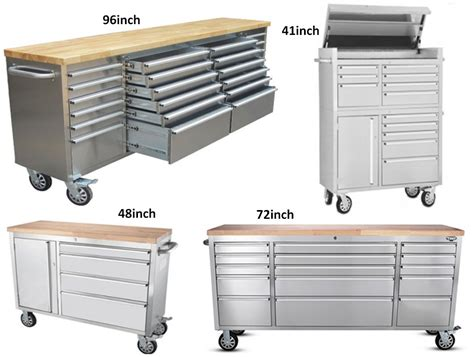 stainless steel tool boxes for trucks 96inch multi drawer stainless steel rolling aluminum truck