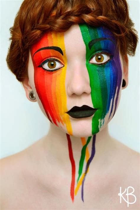 simple face painting examples golfiancom