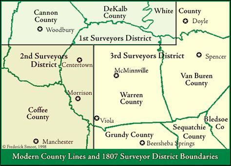 Warren County Records Tngenweb Warren County Tennessee Early Land Records