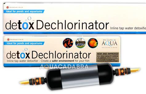 Aqua Detox Aquarium by Evolution Aqua Detox Dechlorinator Carbon Garden Pond Koi
