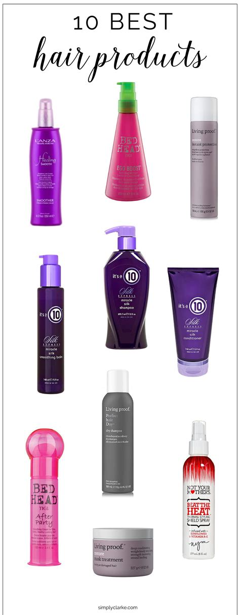 best drugstore silicone free mousses for fine thin curly hair top 10 best hair moisturizer 10 best hair products