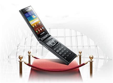 Handphone Samsung W999 samsung android flip phone with dual dual sims dual amoled screens soyacincau