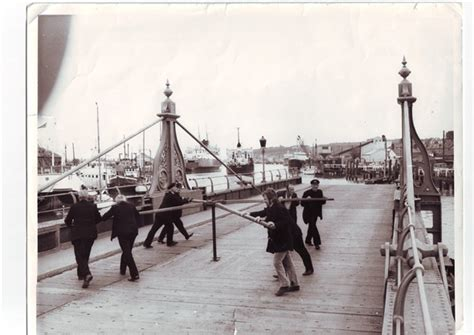 newhaven swing bridge times turning the capstan 1950s 1960s newhaven swing bridge
