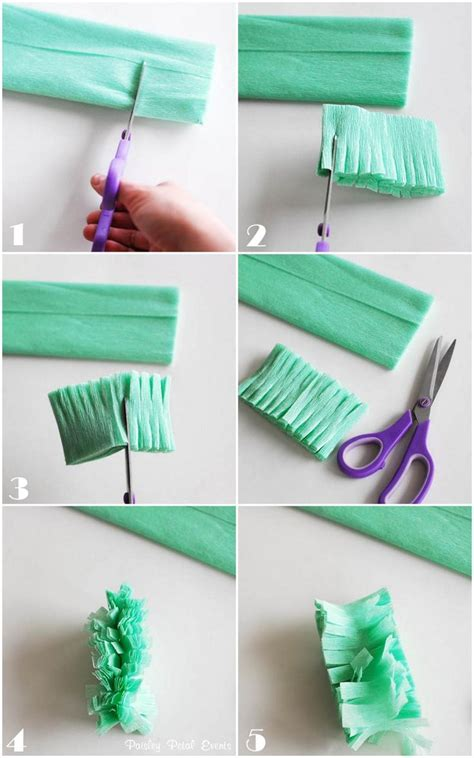 How To Make Crepe Paper Decorations - 25 best ideas about crepe paper streamers on