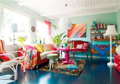colorful home decor ideas modern colorful living room interior design