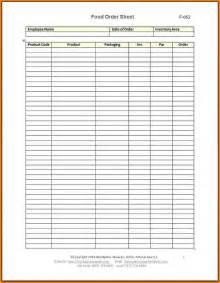 Food Order Sheet Template by 4 Food Order Form Template Weekly Agenda Planner