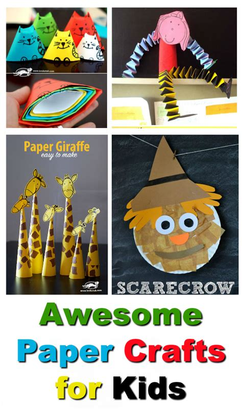 Awesome Paper Crafts - 10 awesome paper crafts for to keep them entertained