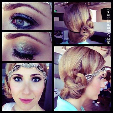 simple makeover for great gatsby gatsby makeup step by step mugeek vidalondon