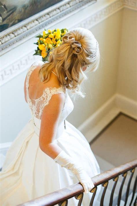 Frisur Hochzeit Schulterlange Haare by Half Up Half Wedding Hairstyles 50 Stylish Ideas