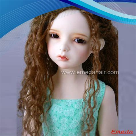 Human Hair Doll For by Human Hair Doll Wig 9 Emeda Hair
