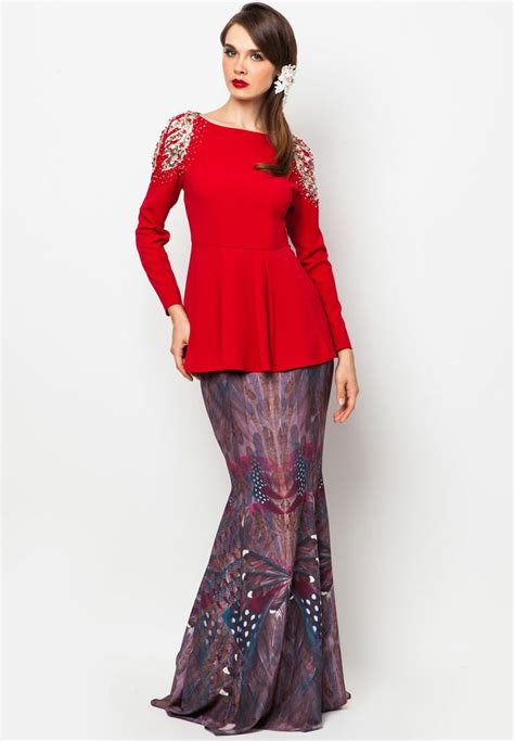 Diana Maxy Baju Dress Wanita 1 494 best baju kurung wanita images on kebaya kebaya brokat and kebaya dress