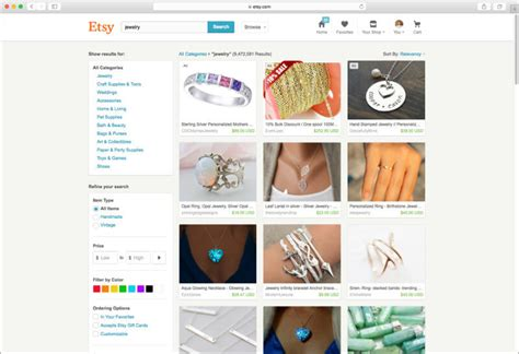 Search On Etsy Etsy Boosts Search For Better Content Discovery User Engagement