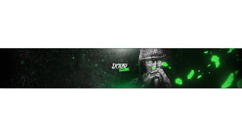 Call Of Duty Ww2 Free Youtube Banner Template 2017 Photoshop Speed Art Youtube Banner Template 2017