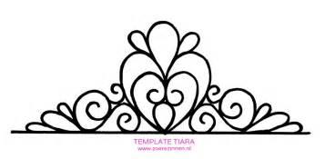 Tiara Template by Tiara Template Pesquisa Template De Tiaras E
