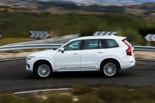 Volvo Is Originally From 2016 Volvo Xc90 T8 Side Profile In Motion Photo 26