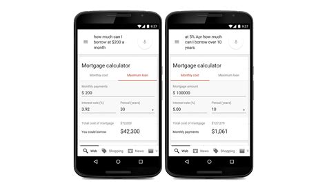 house loans calculator google s new mortgage calculator can quickly tell you how much that new house will