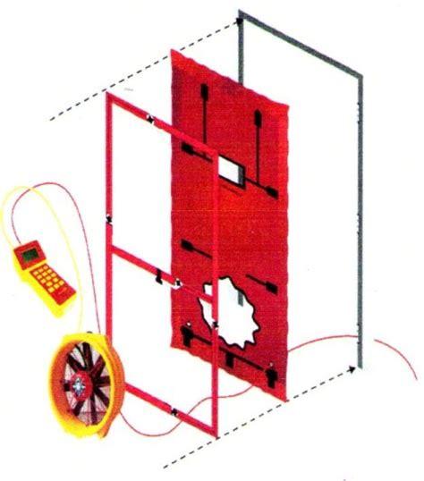 Blower Door Test Equipment blower door testing for residential hvac systems