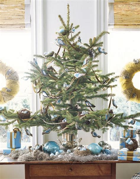 decorate small tree miniature tabletop tree decorating ideas