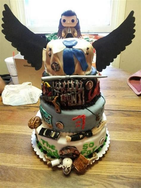supernatural birthday cake  atfindlay  twitter