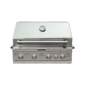 shop kitchenaid 4 burner built in liquid propane and