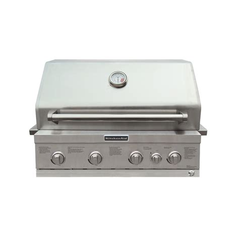 Kitchenaid Grill Maintenance Shop Kitchenaid 4 Burner Built In Liquid Propane And