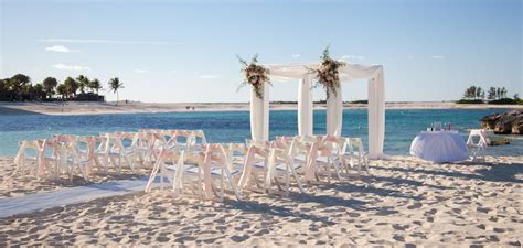 best wedding locations in the caribbean 2 cove wedding venues atlantis paradise island