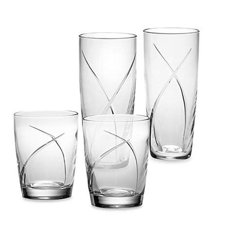 waterford crystal barware waterford 174 siren crystal barware and stemware bed bath