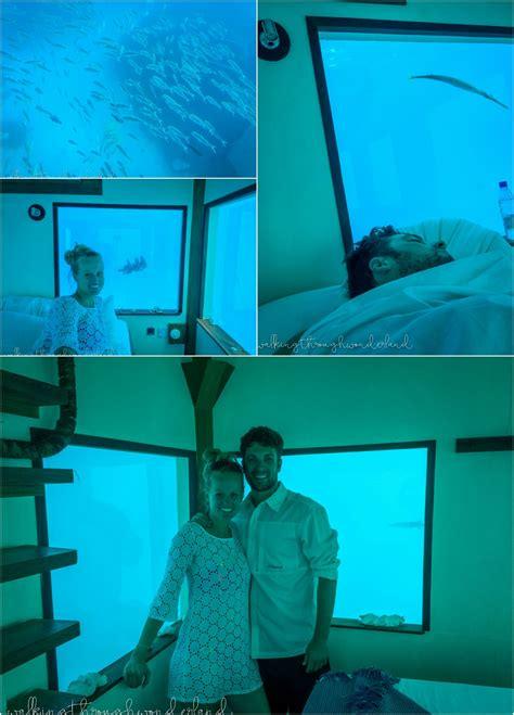 underwater hotel room the underwater room walking through
