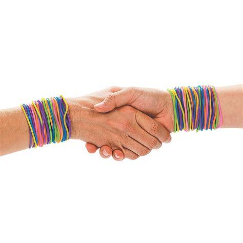 neon jelly bracelets trading