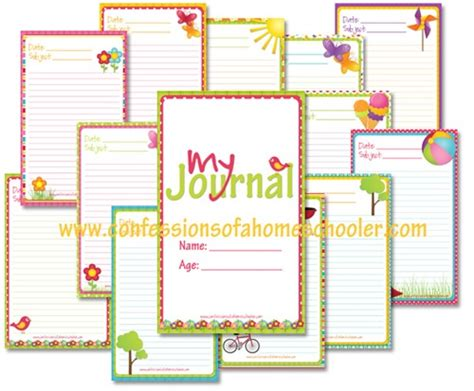 summer journaling notebook confessions of a homeschooler