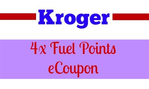 Kroger Gift Cards 4x Points - 4x fuel points at kroger southern savers autos post